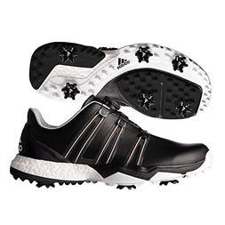 Adidas Powerband BOA Boost Golf Shoe, Black/White, 11 M US