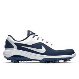 NIKE REACT VAPOR 2 Mens Golf Shoes Cleats Spikes - White Nav