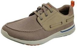 Skechers Relaxed Fit Elent Berick Casual Shoes Taupe 8.5 Med