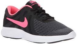Nike Boys' Revolution 4  Running Shoe, Black, 5Y Regular US