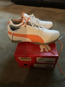 Rickie Fowler Puma Titan Tour V2 Junior Golf Shoes. Size 6C.