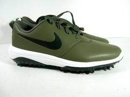 Nike Roche Golf Tour Shoes Men's 9 Flywire Spikes Olive Whit