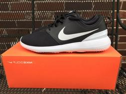 Nike Roshe G Men's Golf Shoes Size 12 Black/White AA1837 001