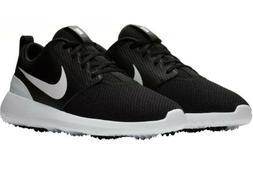 Nike Roshe G men's spikeless golf shoes black / white NWOB