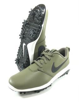 Nike Roshe G Tour Golf Shoes Men's Size 10 Olive White Lea