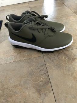 Nike Roshe G Tour Golf Shoes Spikes Men's Olive Black TW Ror