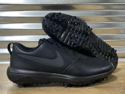 Nike Roshe G Tour Golf Shoes Triple Black Rory SZ