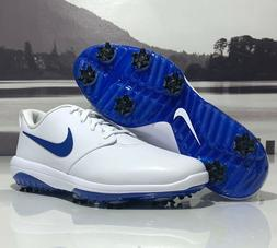 Nike Roshe G Tour Golf Shoes White Blue Waterproof AR5580-10