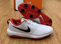 Nike Roshe G Tour Golf Shoes White Red Waterproof Men's Si