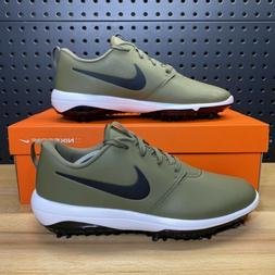 Nike Roshe G Tour Medium Olive Golf Shoes Spikes Rory AR5580