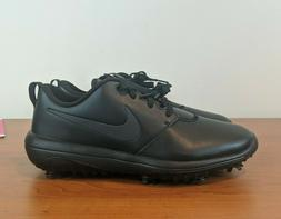 Nike Roshe G Tour Men's Golf Shoes Spikes Triple Black AR558