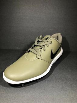 Nike Roshe G Tour Mens Golf Shoes Olive White Black AR5580-2
