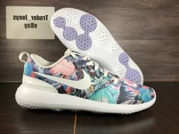 Nike Roshe G Women's Golf Shoes Spikeless Floral White AA1