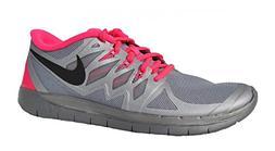 Girl's Nike 'Free 5.0 Flash' Running Shoe Reflect Silver/ Hy