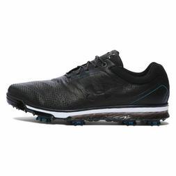 Size 10 Under Armour UA Tempo Tour Men's Golf Shoes  Black 1