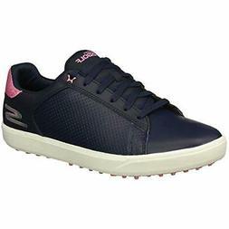 Skechers Golf Women's Drive 4 Spikeless Waterproof Shoe, Nav