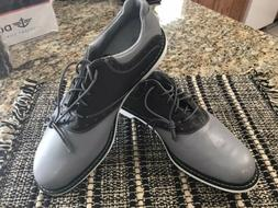 Ashworth Soft Spike Golf Shoes Black/Gray Golf Shoes  Mens S