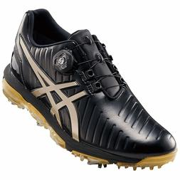 ASICS Soft Spike Golf Shoes GEL-ACE PRO3 Boa Black Latte TGN