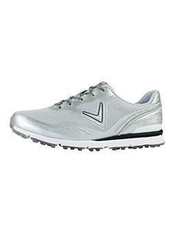 Callaway Women's Solaire Golf Shoe Light Grey 8.5 B US