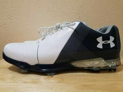 Under Armour Spieth 2 Gore-Tex Golf Shoes White/Blue Men's S