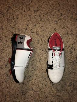 UNDER ARMOUR SPIETH ONE BOYS GOLF SHOES CLEATS BRAND NEW 130