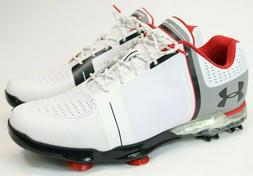 Under Armour Spieth One Men's Golf Shoes White Red Grey 1288