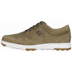 spikeless golf casual shoes tan choose size