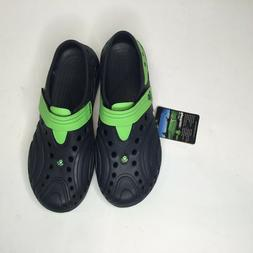 Men's Dawgs Lightweight Spirit Golf Shoes Navy with Lime Gre