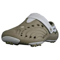 Men's Dawgs Lightweight Spirit Golf Shoes White with White S