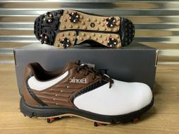 stabilite golf shoes eg white brown black