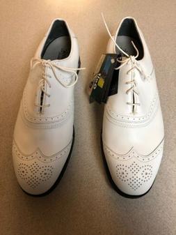 Etonic Stability Dri Tech XT Plus White Golf Shoes Size 10M
