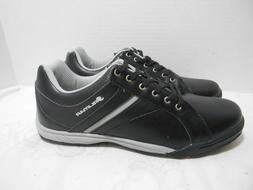 Orlimar Stableford Golf Shoes, Men's, 9, Medium, Black/Grey