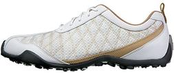 FootJoy Ladies Summer Series Golf Shoes 98847 White/Tan Wome