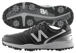 New Balance Sweeper Golf Shoes NBG1800BK Black 2018 Men's Ne