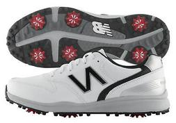 New Balance Sweeper Golf Shoes NBG1800WK White/Black 2018 Me