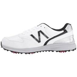New Balance Sweeper Golf Shoes - White/Black