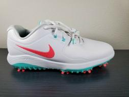 SZ 11.5 Nike Vapor Pro White/Hot Punch-Aurora Green Golf Sho