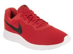 NIKE Men's Tanjun University Red/Black Running Shoe 12 Men U