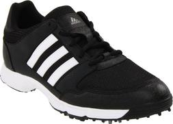 adidas Men's Tech Response 4.0 Golf Shoe, Iron Metallic/Whit