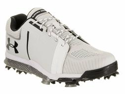 Under Armour Tempo Sport Mens Golf Shoes Spikes UA White