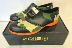 BIION The Oxford Patterns Unisex Slip On GOLF SHOES NEW CAMO
