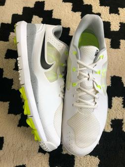 Nike Tiger Woods TW 2014 volt 652627-100 Spikeless Golf Shoe