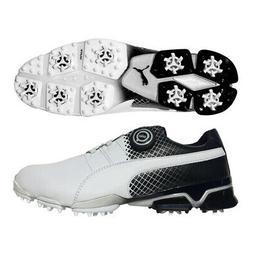 PUMA TitanTour Ignite Disc - Golf Shoes - Special Edition Wh