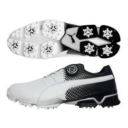 PUMA TitanTour Ignite Disc Golf Shoes - Special Edition Whit