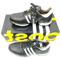 Adidas Tour 360 2.0 Mens US 11 Wide Black Waterproof Golf Sh