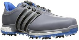 adidas Men's Tour 360 BOA Boost Golf Shoe, TRACE GREY, 11.5