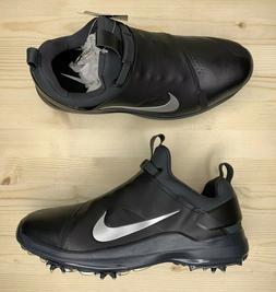 Nike Tour Premiere PGA Golf Shoes Cleats Black Silver Mens