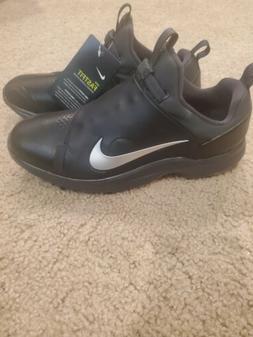 Nike Tour Premiere PGA Golf Shoes Cleats Black Silver AO2241
