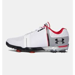 Under Armour Tour Spieth One Golf Shoe - White/Black/Red