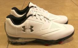 Under Armour Tour Tips Golf Shoes White Silver Men's Size